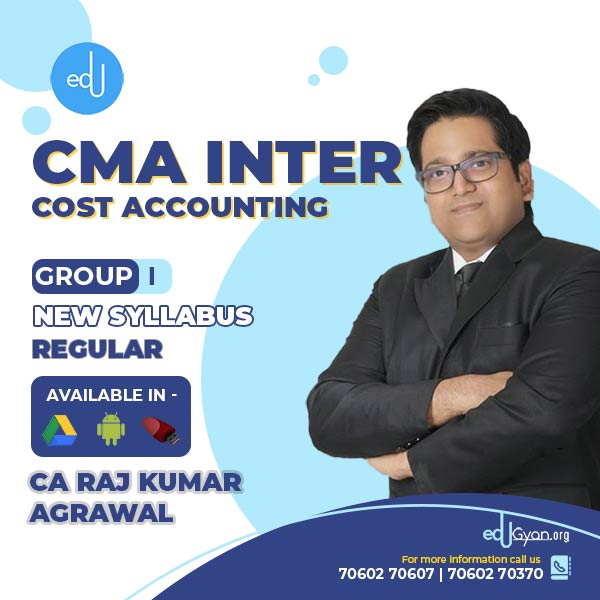 CMA Inter Cost Accounting By CA Raj K Agrawal