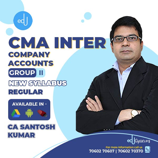 CMA Inter Company Accounts By CA Santosh Kumar