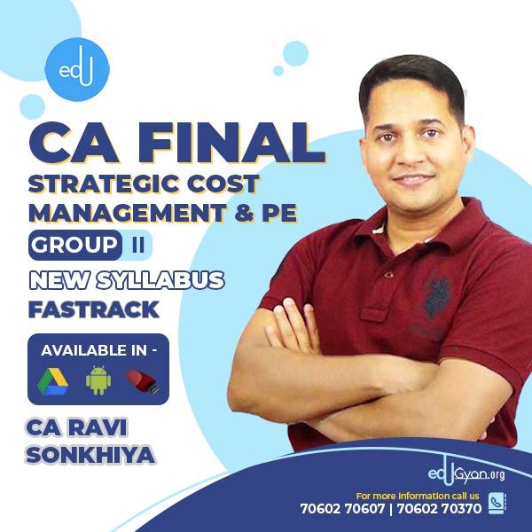 CA Final SCMPE Fast Track By CA Ravi Sonkhiya