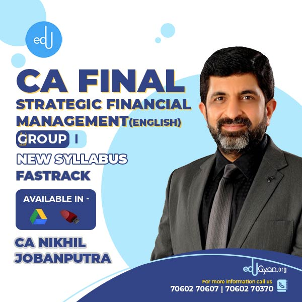 CA Final Strategic Financial Management Fast Trac
