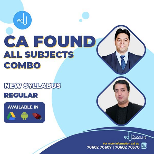 CA Foundation All Subjects Combo By ICS Classes