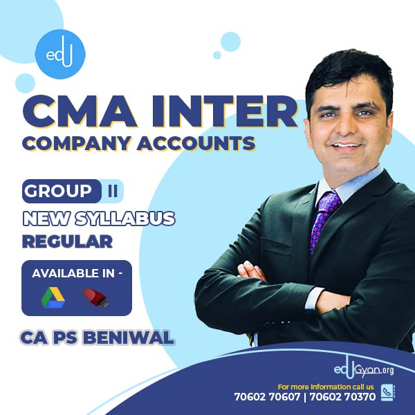 CMA Inter Company Accounts By CA PS Beniwal
