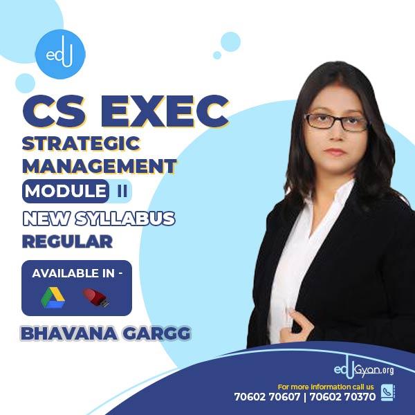 CS Executive Strategic Management By Bhavana Gargg
