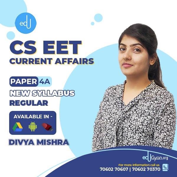 CSEET Current Affairs By Divya Mishra
