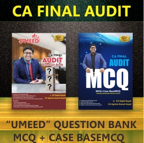 CA Final Audit Question Bank & MCQ Book By CA Kapil Goyal