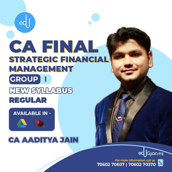 CA Final Strategic Financial Management By CA Aaditya Jain