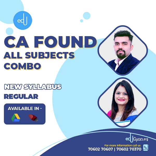 CA Foundation All Subjects Combo By CMC Classes