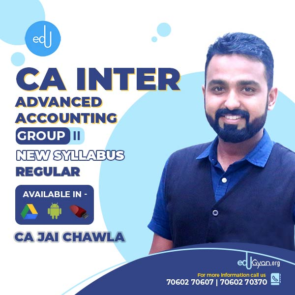 CA Inter Advanced Accounting By CA Jai Chawla