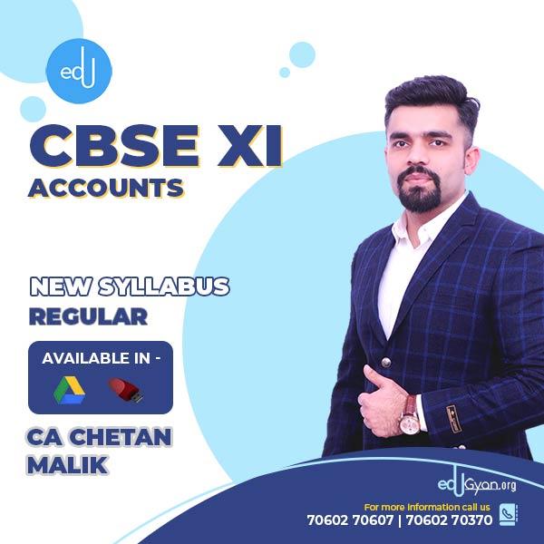 Class XI CBSE Accounts By CA CS Chetan Malik