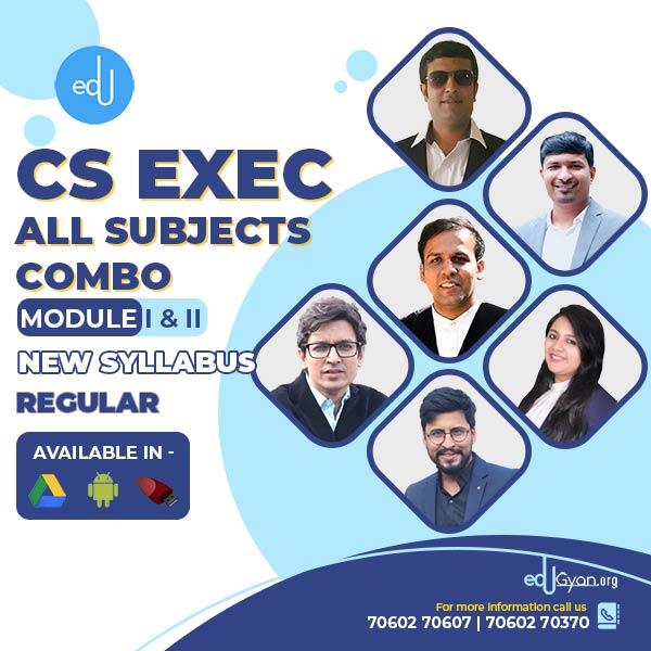 CS Executive Module- I & II Combo By Inspire Academy