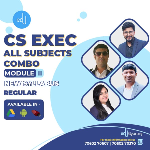 CS Executive Module- II Combo By Inspire Academy