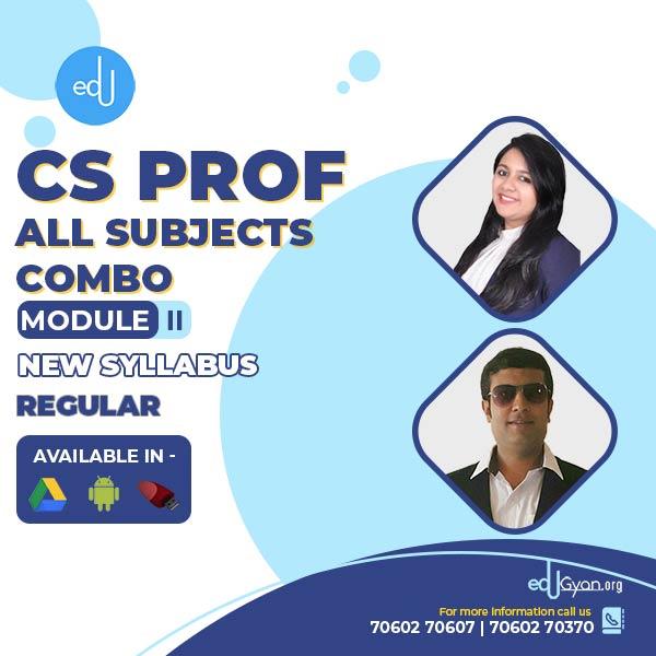 CS Professional Module- II Combo By Inspire Academy