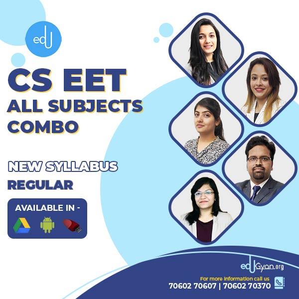CSEET All Subjects Combo By SAH Academy