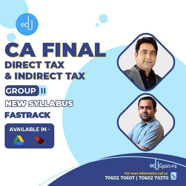 CA Final DT & IDT Fast Track Combo By CA Bhanwar Borana & CA Rajkumar