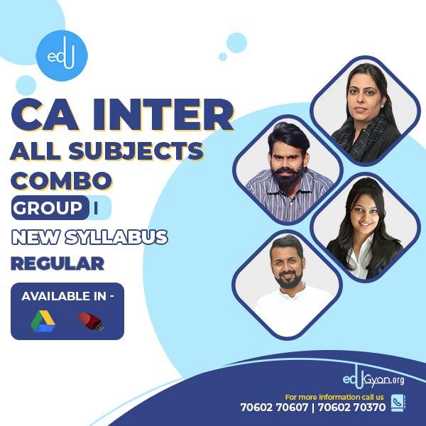 CA Inter Group- I Combo By Swapnil Patni Classes