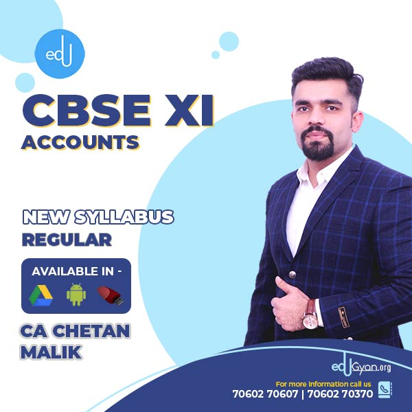 Class XI CBSE Accounts By CA CS Chetan Malik