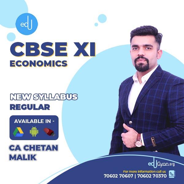 Class XI CBSE Economics By CA CS Chetan Malik