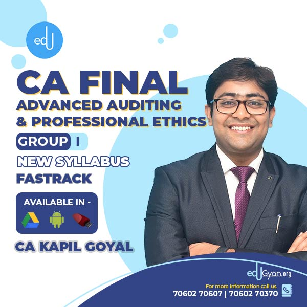 CA Final Advanced Auditing Fast Track By CA Kapil Goyal