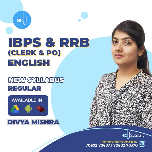English for IBPS & RRB (Clerk & PO) By Divya Mishra