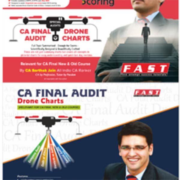 CA Final – Company Audit, Code of Ethics, SA's and Special Audit Drone Charts Includes Two Drone Charts