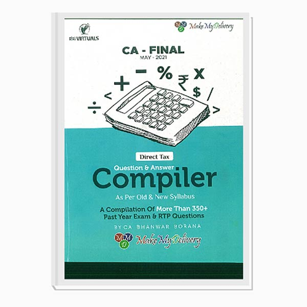 CA Final Direct Tax COMPILER For May 21 Exams By CA Bhanwar Borana