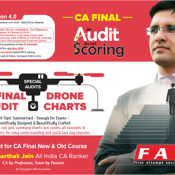 CA Final Special Audit Drone Charts By CA Sarthak Jain
