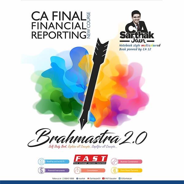 CA Final – FR Brahmastra Book 2.0 BY CA Sarthak Jain