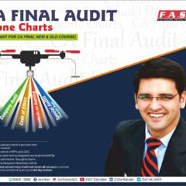 CA Final Audit Full Course Drone Charts (Except Special Audit) By CA Sarthak Jain