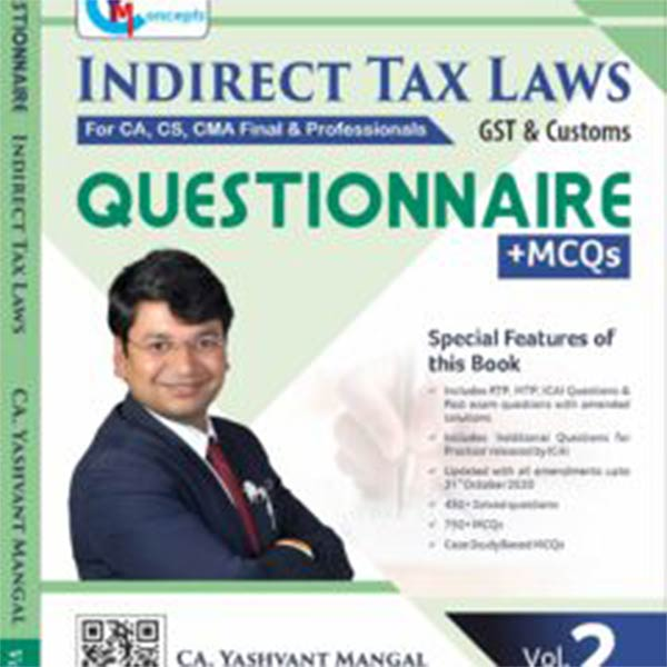CA Final IDT (Questionnaire+MCQ) By CA Yashvant Mangal