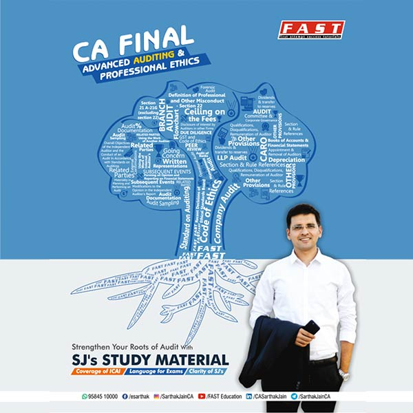 CA Final Audit Books Study Material for Audit By CA Sarthak Jain